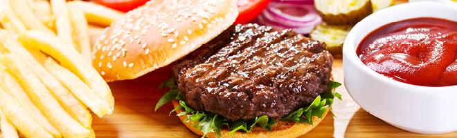 | Burger Menü